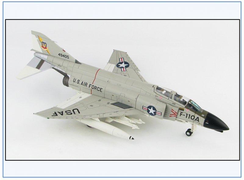 hobby Master 1:72,neu 2//2019 /& USAF 1962 Ha19005 f-4c Phantom II f-110a Spectre
