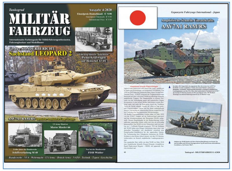 Militärfahrzeug Magazin 4//2020 Tankograd NEU 9//2020 AUF LAGER!/&