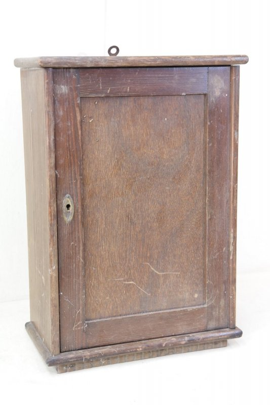petit vieux armoire en bois murale art d co cabinet. Black Bedroom Furniture Sets. Home Design Ideas