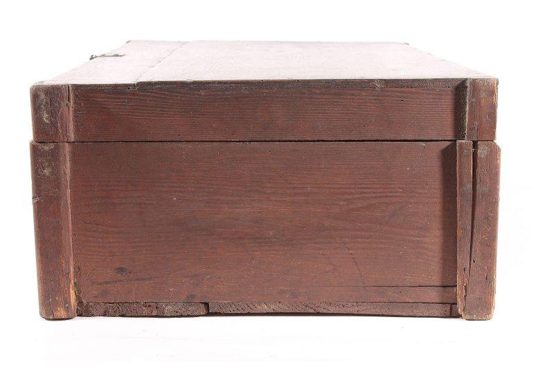 vieux coffre en bois valise bois caisse caisse vintage vintage coffre ebay. Black Bedroom Furniture Sets. Home Design Ideas
