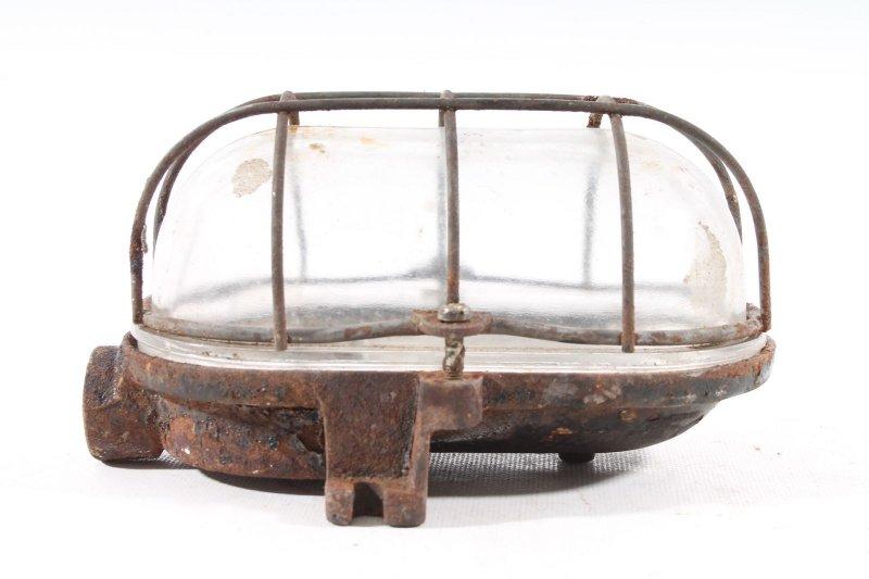 Antique Furniture Confident Antique Lamp Industrial Lamp Cellar Lamp Ex Industrie Loft Schildkrötenlampe