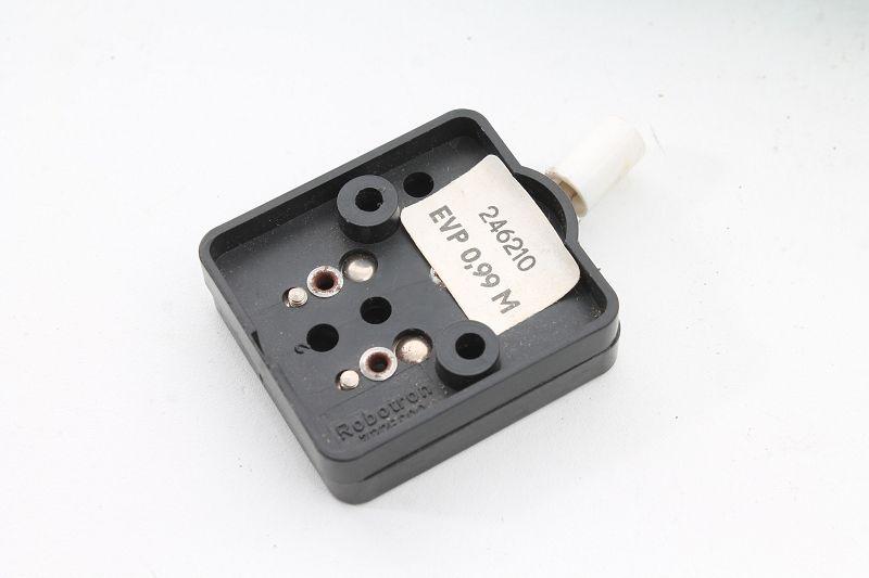 Alter Schalter Aufputz Kippschalter Lichtschalter schwarz Robotron 1,0,2 Antyczne materiały budowlane