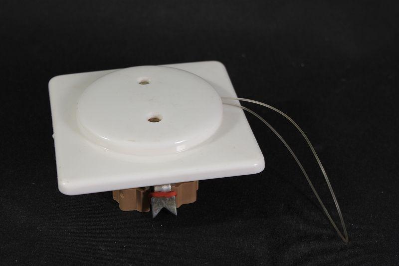 alter schalter unterputz lichtschalter up zugschalter wechselschalter eckig wei ebay. Black Bedroom Furniture Sets. Home Design Ideas