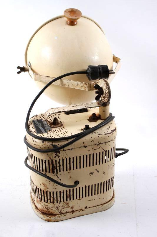 20th Century Beautiful Old Quartzlampe Quartz Lamp Light Dr Felix Müller Cult Retro Decor Antiques