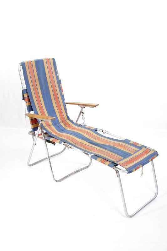 ancienne ddr chaise longue longue camping lit pliant pliante culte r tro camping ebay. Black Bedroom Furniture Sets. Home Design Ideas