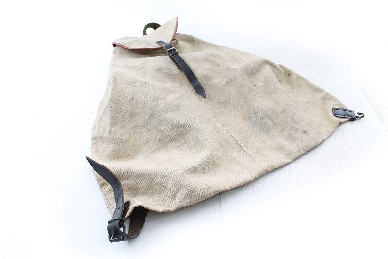 Alter Wanderrucksack Rucksack Stoff Tasche Wanderer Bergsteiger Old Vintage Antiquitäten & Kunst