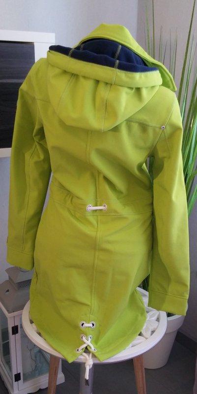Schmuddelwedda Softshell Jacket Size S Lime Green Ladies