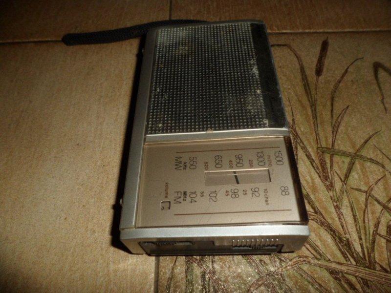 Radio Philips Portable Receiver 090 With Error