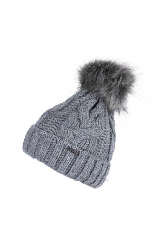 In EU Hergestellt Vivisence Dame Bommel M/ütze Kopfbedeckung Winter Warm Dick Gemustert 7018