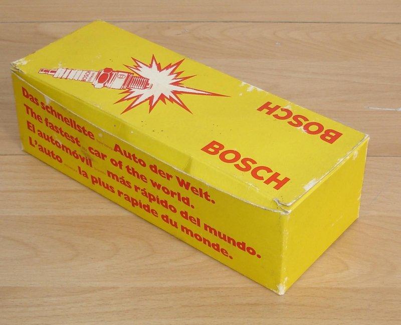 Bosch werbegeschenk schnellste spielzeug auto der welt