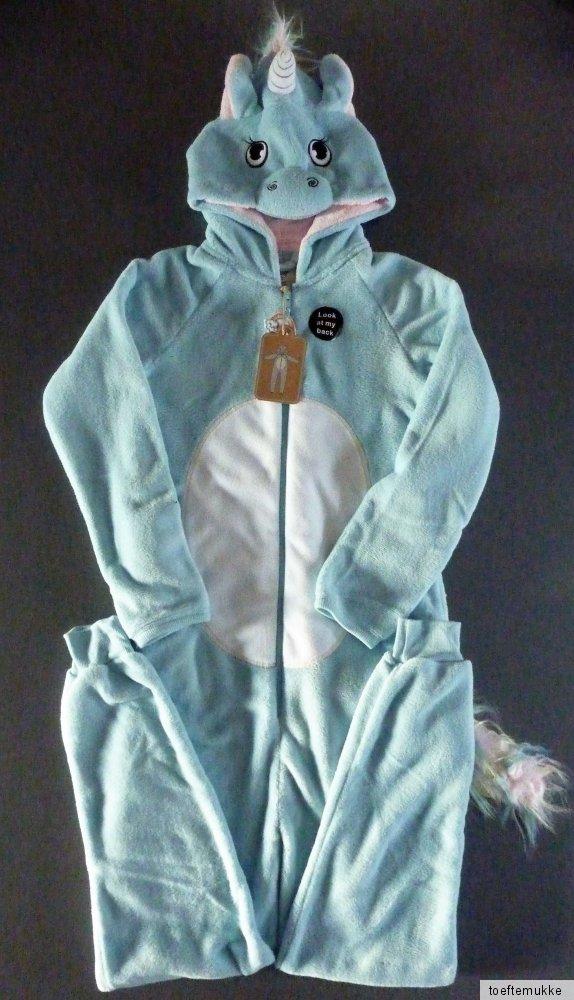 neu einhorn damen onesie fleece jumpsuit xl schlafanzug. Black Bedroom Furniture Sets. Home Design Ideas