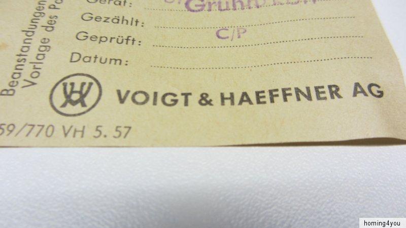 Elementy budowlane Antyczne materiały budowlane Wechselstrom Serien Drucktasten Doppel Schalter  Voigt & Haeffner Bakelit
