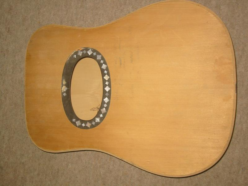 Details about Old guitar body , probably Hofner, German Made in the 1960s,  NOS, BIG soundhole