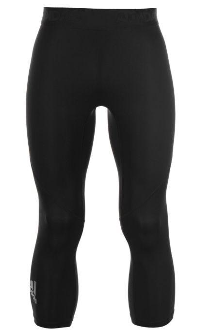 Details zu Adidas Herren Alpha Skin Run Lauf Hose 34 Tights Schwarz Größe S, M, XL Neu