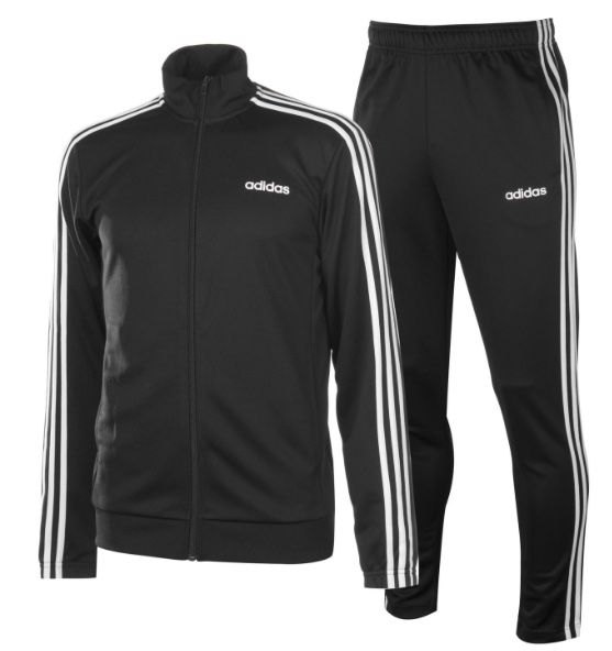 Adidas Tiro Jungen Trainingsanzug Fitness schwarz Neu