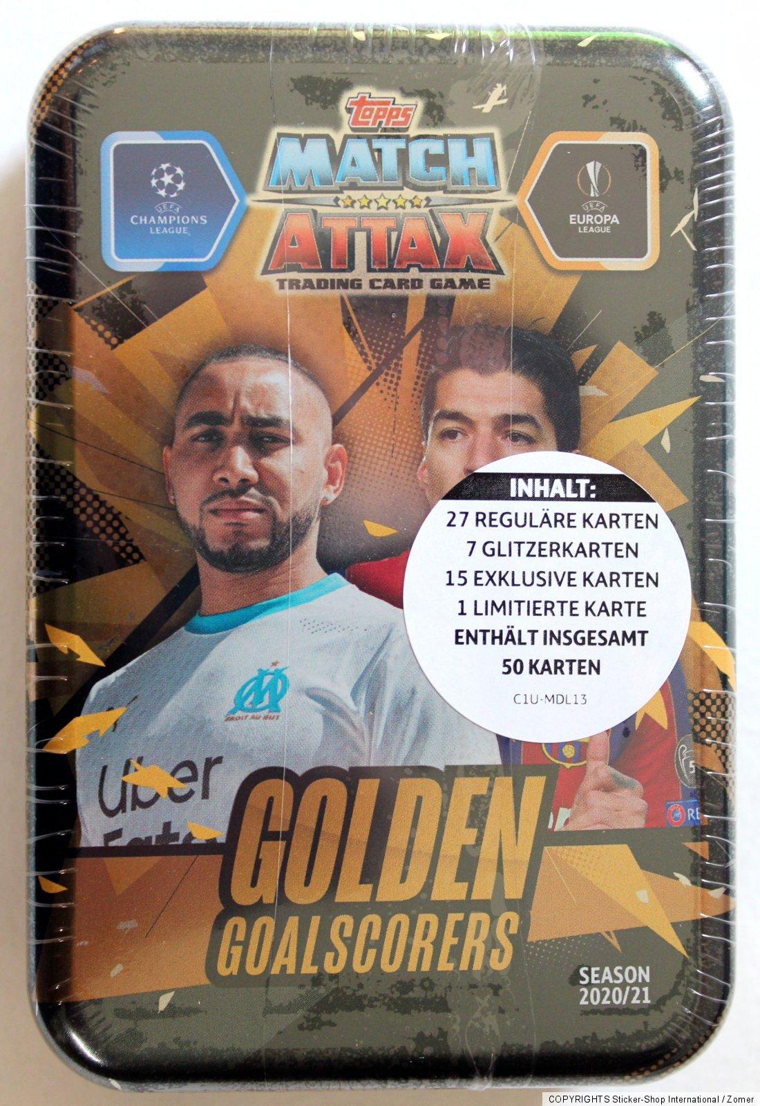 Topps Match Attax Champions League 2020/2021 Mega Tin ...