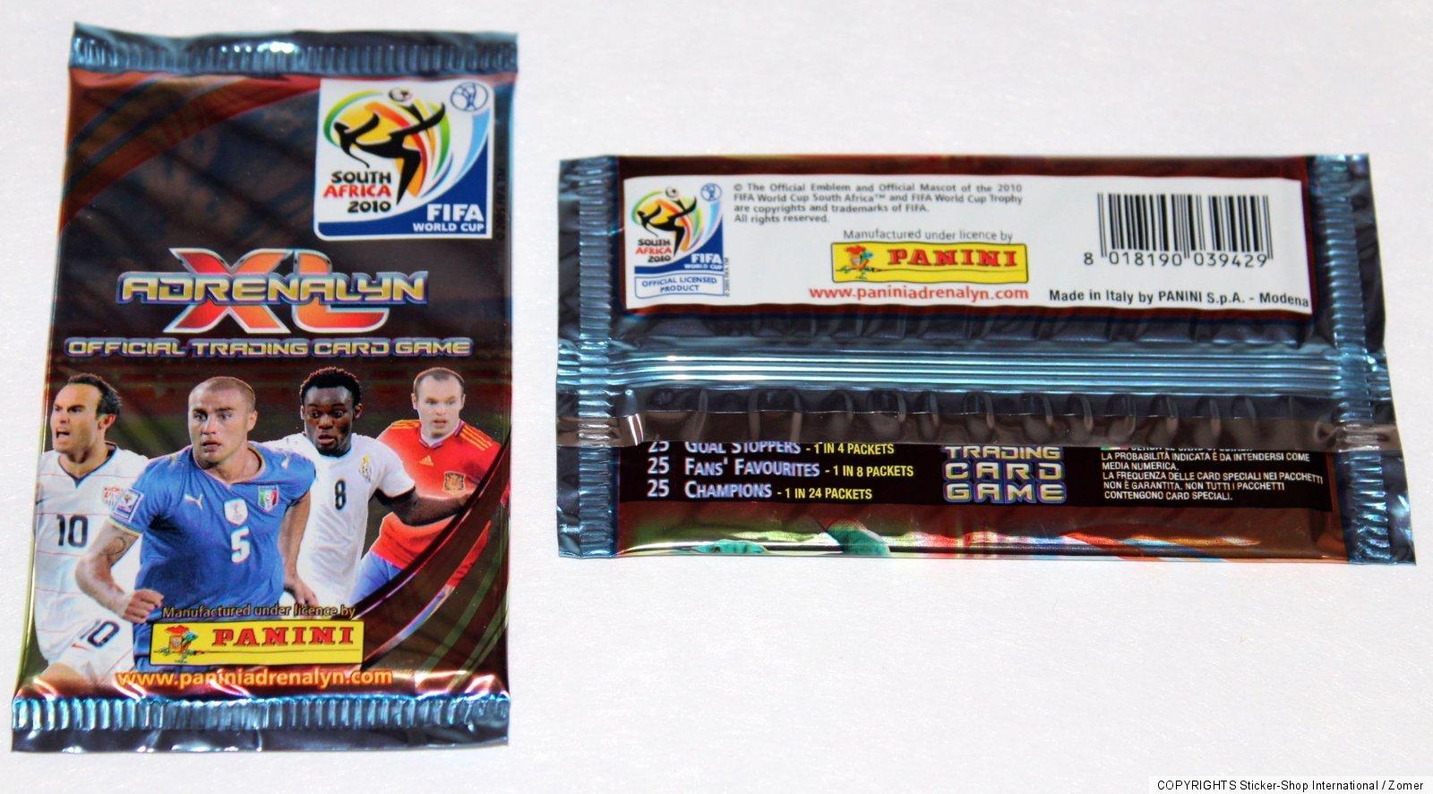 pour choisir Panini coupe du monde 2010 adrenalyn xl tous les champions par exemple, Messi, ronaldo