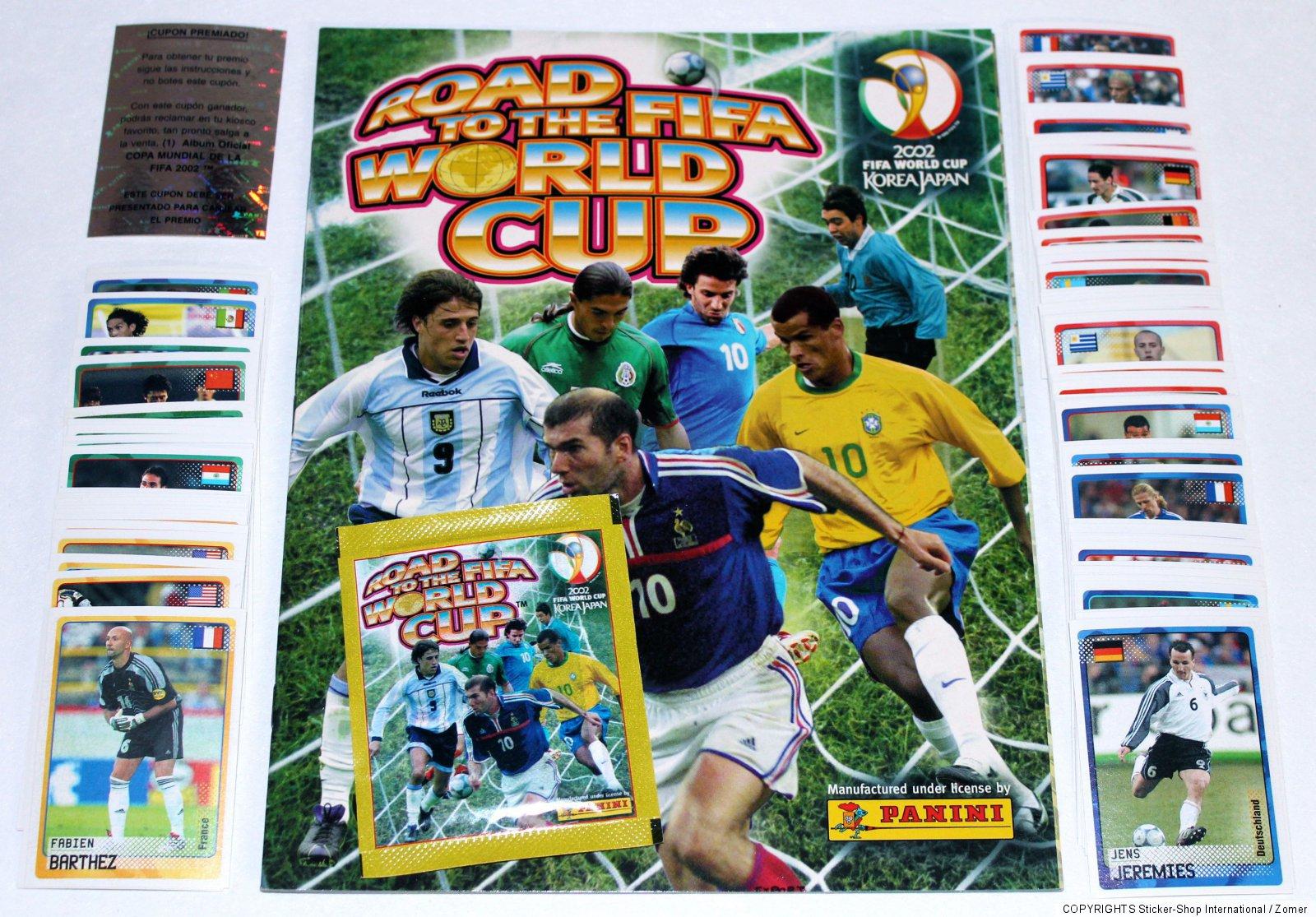Coupe Du Monde Corée // Japon 2002 Cartes Veuillez Choisir 1 To 72 Panini