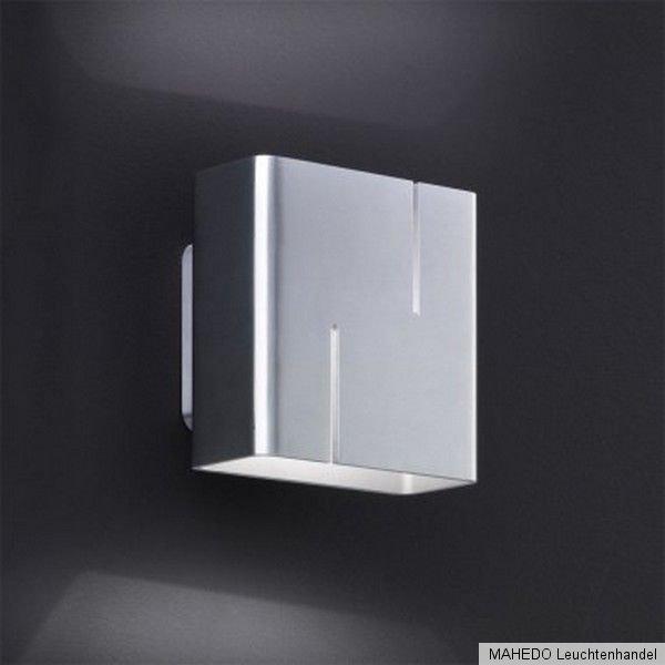design led wandleuchte wandlampe vito metall nickel indirektes licht effektlampe ebay. Black Bedroom Furniture Sets. Home Design Ideas