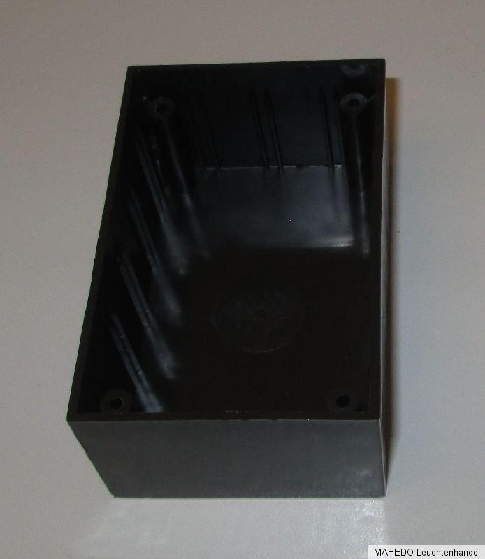universal ger te leer diy geh use case box kunststoff plastik schwarz silber ebay. Black Bedroom Furniture Sets. Home Design Ideas