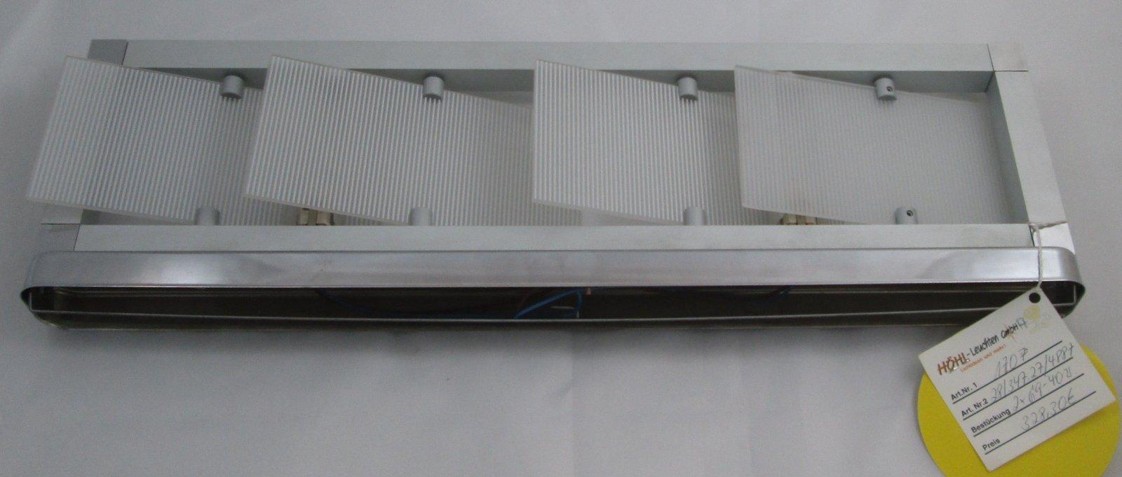 Design Wandlampe LAMPOL Helstra Rechteck Glas Fenster 3D verstellbar ...