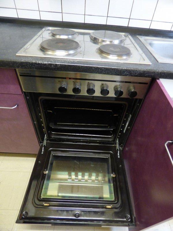 Küchenzeile Spüle Herd ~ küchenzeile küche l 270cm mit herd kühlschrank spüle abzug ebay