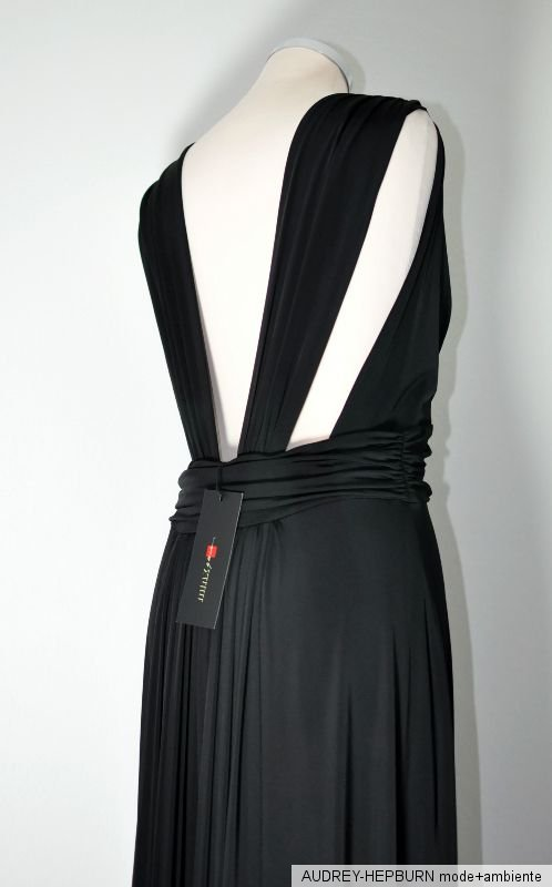 0ef902cf02e6b8 Minx Gr 40 langes Abendkleid Maxikleid WALLY90 Schwarz NEU | eBay