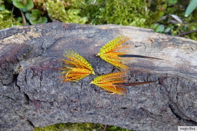 4 st gosling irish mayfly yellow 10 maifliege. Black Bedroom Furniture Sets. Home Design Ideas