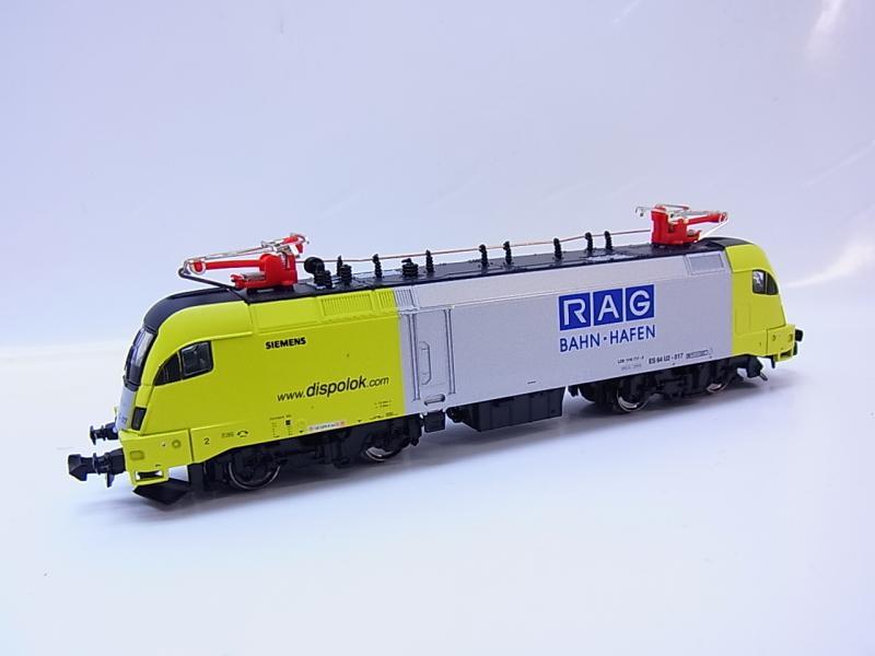 49204 Neuwertige Hobbytrain 240874 Siemens E-Lok Basic Taurus RAG ...