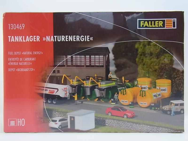 Tanklager Naturenergie NEU /& OvP Faller 130469 H0