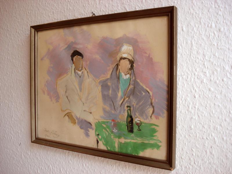 Original Gemälde Malerei modern Art Kunst Abstrakt signiert: Ischi ...
