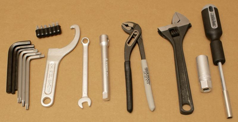 harley davidson original bordwerkzeug tool kit werkzeug set ebay. Black Bedroom Furniture Sets. Home Design Ideas