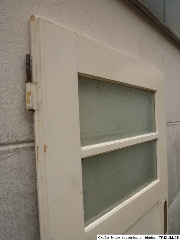 alte t r zimmert r holzt r mit glas old door ca 87 0 x 186 6 cm ebay. Black Bedroom Furniture Sets. Home Design Ideas