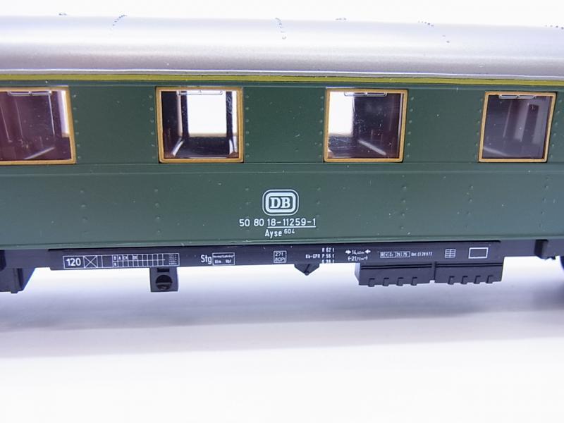 lot 49837 sch 246 ner m 228 rklin h0 4145 eilzug wagen 1 klasse der db in ovp ebay