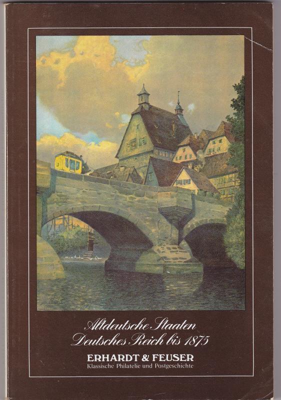 Erhardt Feuser Auktion 8 1982 Altdeutsche Staaten