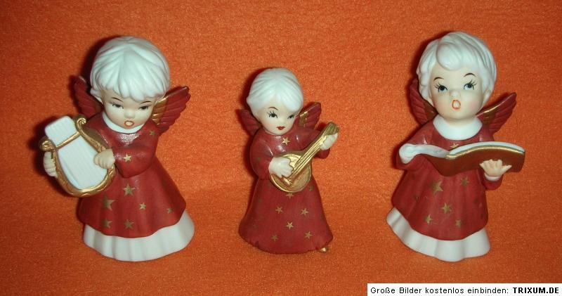 3 engel mit laute harfe collection angelina engel putte. Black Bedroom Furniture Sets. Home Design Ideas